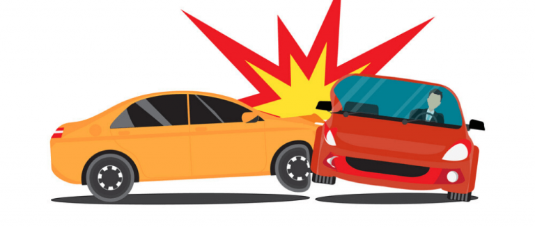 Top 5 de tipos de accidentes en coches