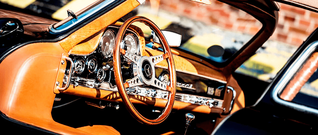 Colores en tablero de auto