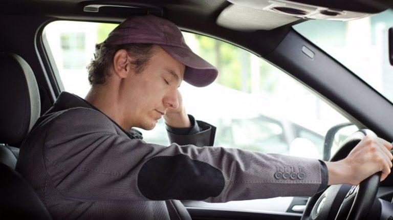 conducción somnolienta