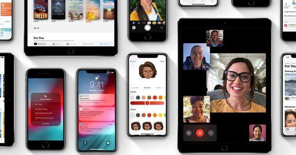 iPhone formado en orden de aparición dentro del mercado