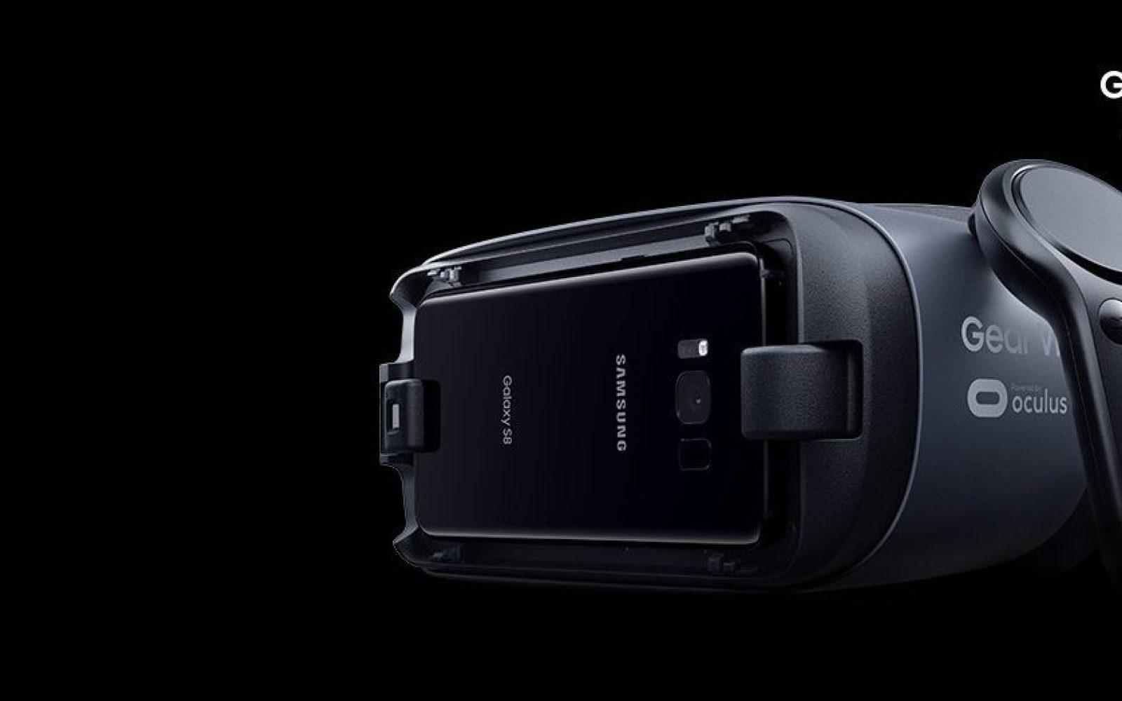 Gear VR funcionando con un celular Samsung
