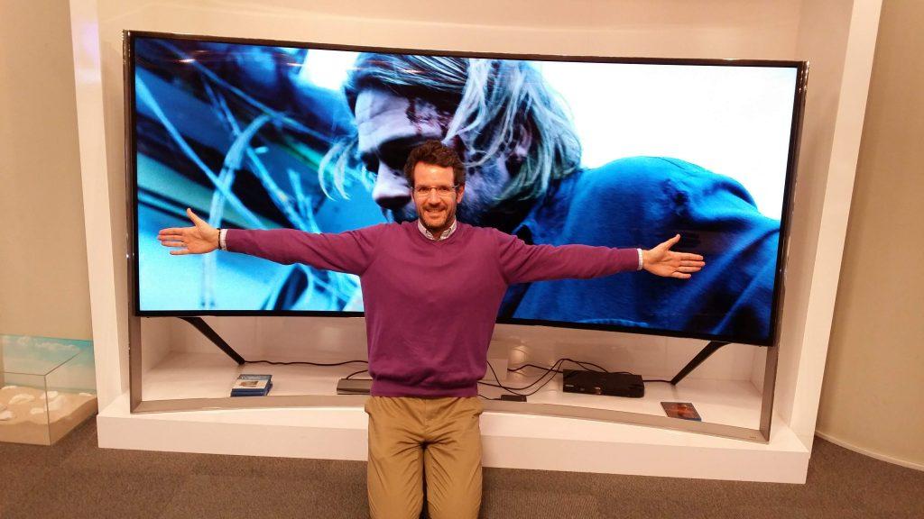 Se lanza una televisión con un gran diseño