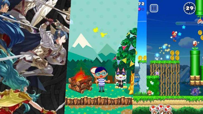 Nintendo presenta nuevos juegos para mobile