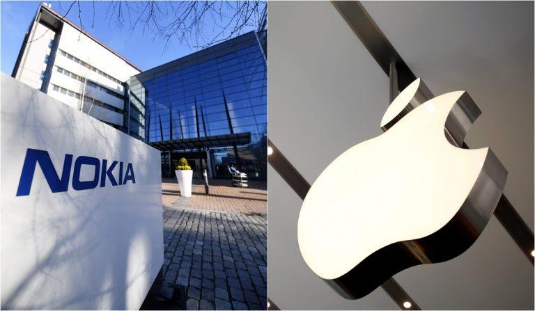 Se desata una guerra entre Apple y Nokia