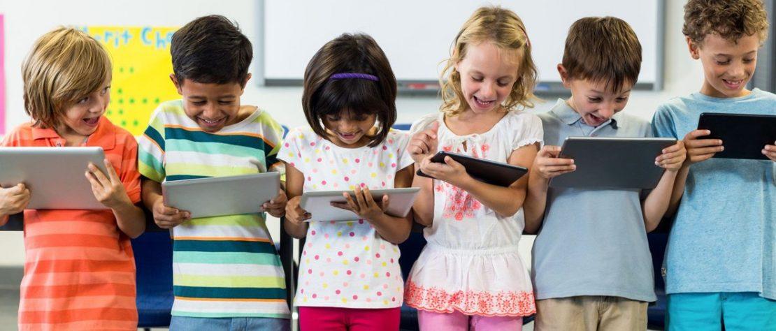 La tableta es útiles para el desarrollo de los niños