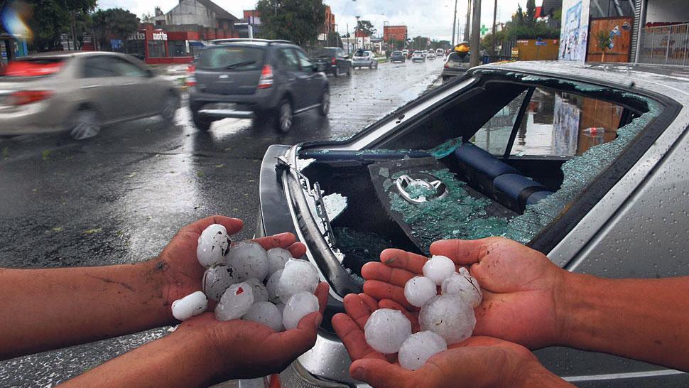 El seguro de auto cubre daños por granizo
